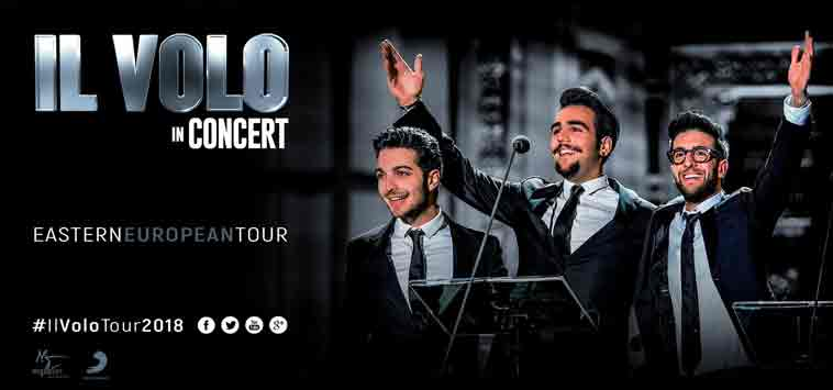 Il Volo Budapest concert 2018 - Gold Hotel Budapest