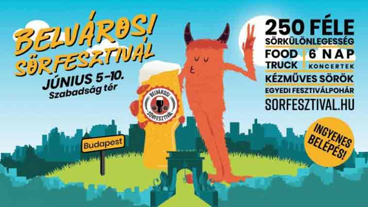 Budapest Beerfest 2019 - Gold Hotel Budapest