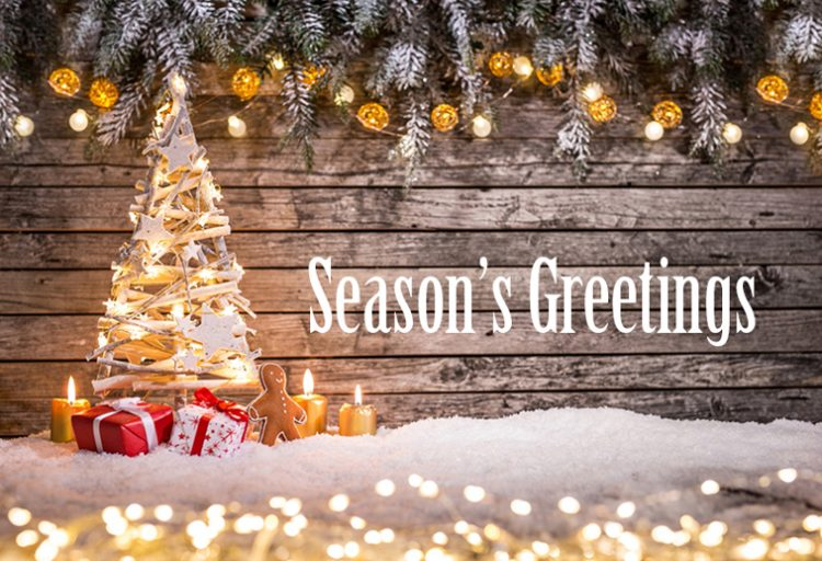 Season Greetings and Happy New Year! - Gold Hotel Budapest